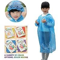 FOONEE - Poncho de Lluvia desechable para niños