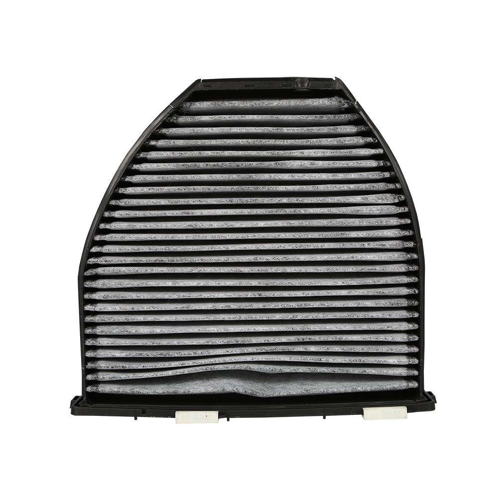 Qiilu Car Cabin Air Filter For Mercedes Benz AMG GT S C250 C300 Includes Activated Carbon (CUK29005)