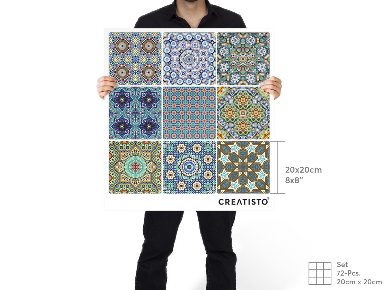 creatisto Fliesenaufkleber Mosaikfliesen Fliesensticker ...