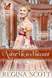 Never Vie for a Viscount (Fortune's Brides Book 4)