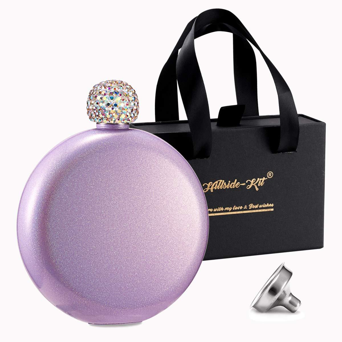 品質は非常に良い Booze Shot Flask- AB Glitter クリスタル蓋 フラスコ クリエイティブ 304 ステンレススチール ワインアルコール Purple リキュールフラスコ レディース ガールズ メンズ パーティー ハンドサイズ フラスコ 5オンス パープル Glitter Purple B07PG5XQ6Q, エイブルマート:1e3a8d01 --- a0267596.xsph.ru