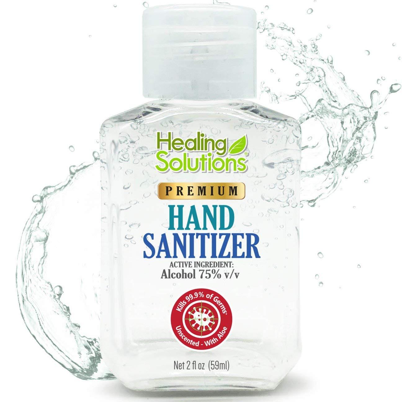 Healing Solutions Hand Sanitizer Gel
