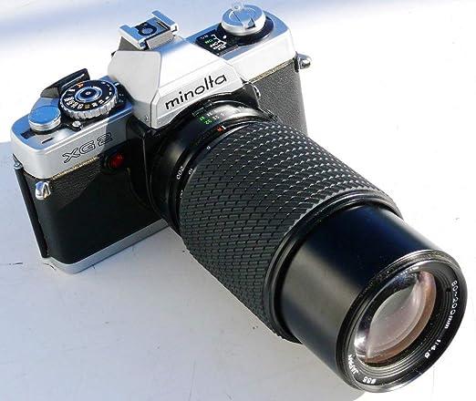 Minolta XG1 XG de 1 - Cámara réflex analógica Incluye Objetivo ...