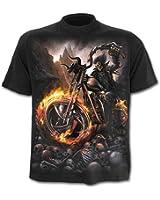 Spiral - Men - WHEELS OF FIRE - T-Shirt Black