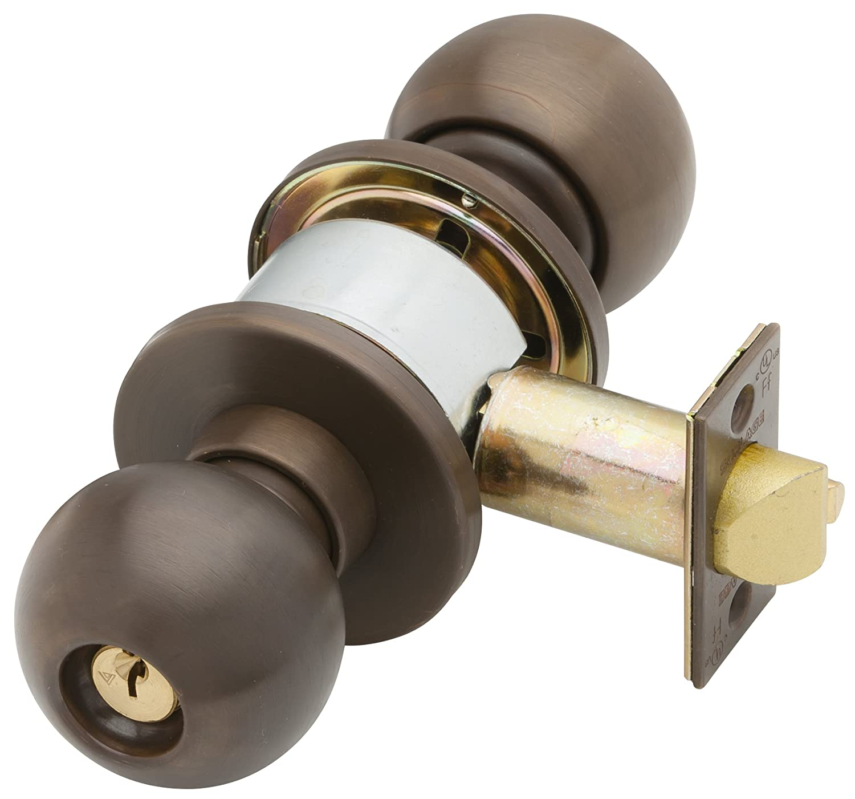 """Schlage /""""D/"""" lock round handle"""