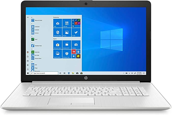 "HP 17 17.3"" HD+ Laptop Computer_ AMD Athlon Gold 3150U up to 3.3GHz_ 8GB DDR4 RAM_ 1TB HDD_ DVDRW_ 802.11AC WiFi_ Bluetooth 4.2_ Webcam_ Online Class Ready_ Windows 10 Home_ BROAGE 64GB Flash Drive"