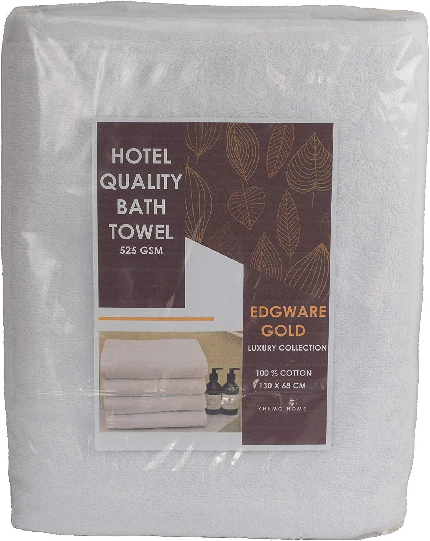 Edgware Gold Serviette de bain de qualit/é h/ôteli/ère 525 g//m/²