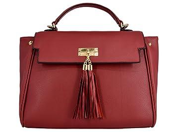 57c1f9c33b43f CRAZYCHIC - Damen Große Handtasche - Large Tote Shopper Bag - PU Leder  Handgelenktasche - Frauen