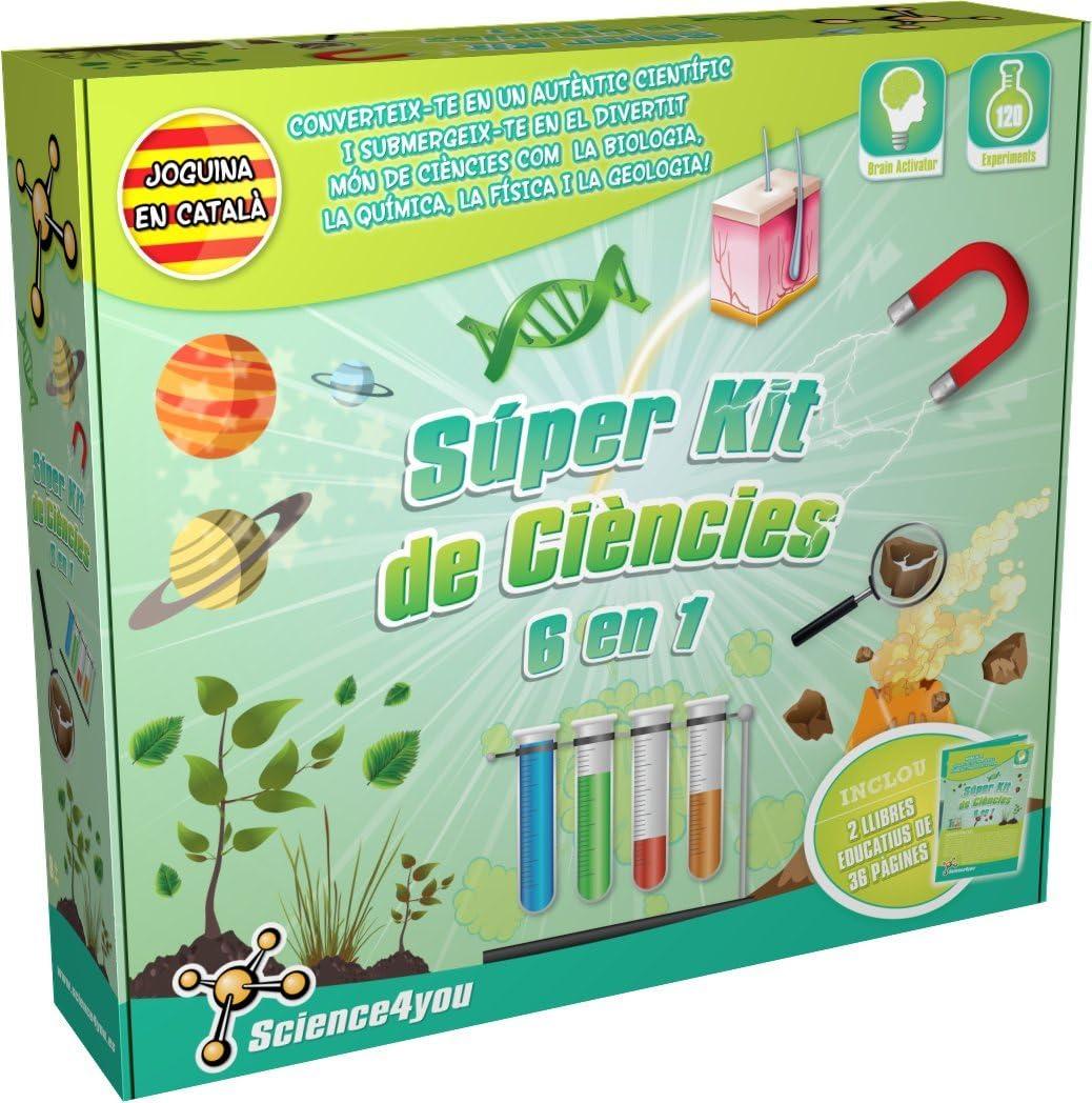 Science4you-Súper Kit de ciències 6 en 1, versión en catalán (487021): Amazon.es: Juguetes y juegos