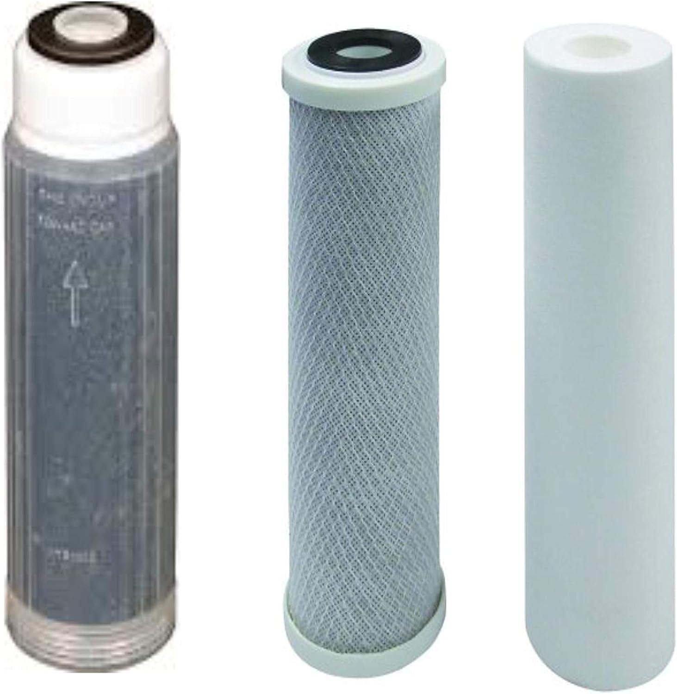 """GENUINE HydroLogic Deionization Filter 10/"""" x 2.5/"""" Mixed Bed DI Resin RODI"""