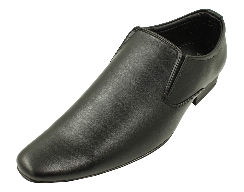 Buy VKC Men's Black Loafers - 10 UK at