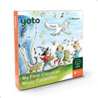 Yoto 'My First Classical Music Collection' Card Pack for Yoto Player and Yoto App – Includes 10 Cards with Albums by…