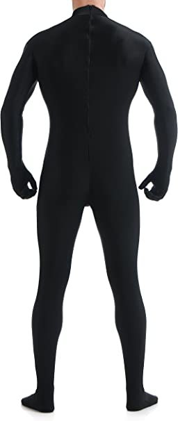 VSVO Unitard Skin-Tight Solid Color Dance Wear for Adults and Children