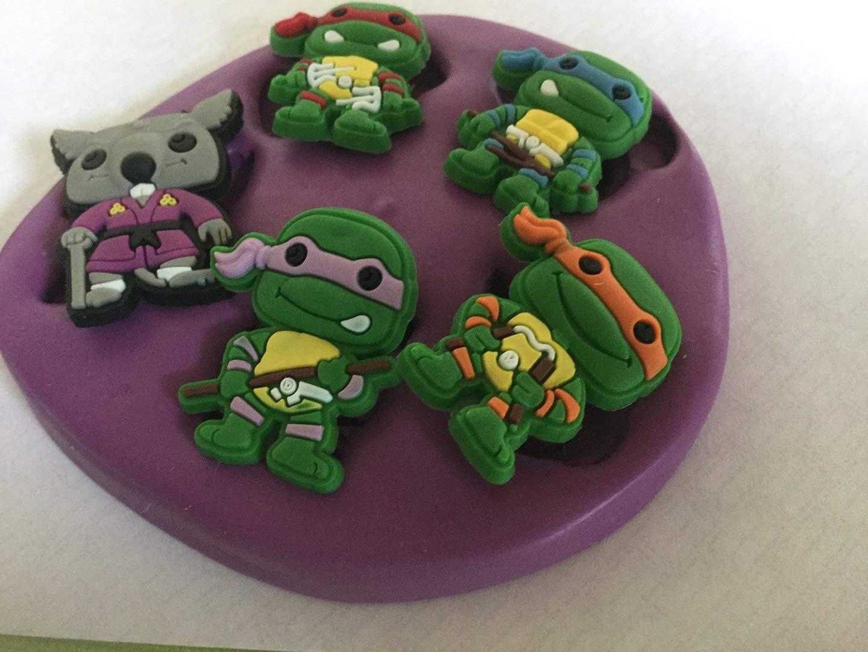 Molde de silicona de las Tortugas Ninja: Amazon.es: Hogar
