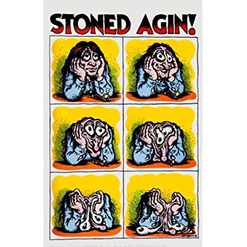 R crumb stoned agin decal