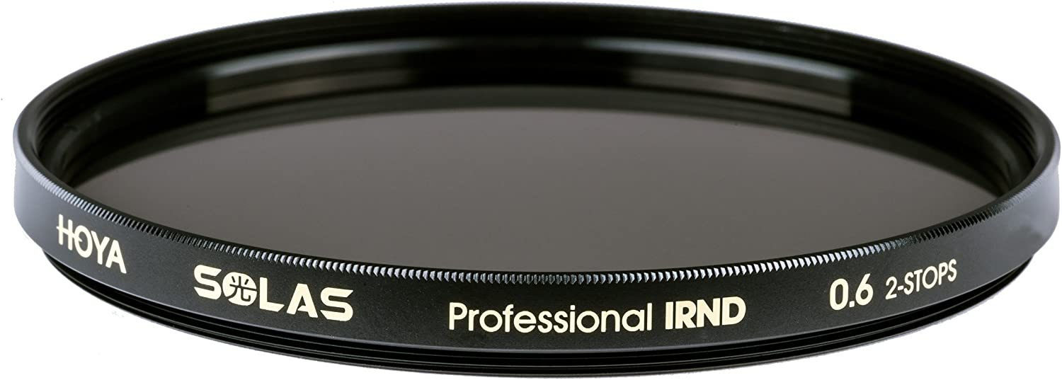 82mm 0.6 2 Stop IRND Neutral Density Filter HOYA Solas ND-4