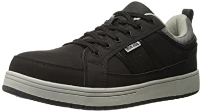 f5360f7f2094 Iron Age IA5301 Men s Skate Oxford Safety Shoes - Black - 6.0 - M