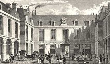 Amazon paris grand bureau de la poste old print