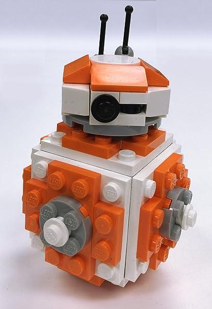 Amazon Constructibles Round Robot Mini Model Lego Parts