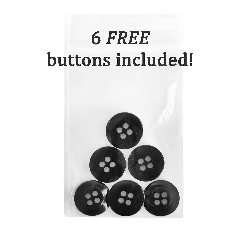 "Genuine Leather Trimmed Adjustable Y-Back Leather Trimmed Button End Polished Nickel-Plated Adjusters-Navy Hold/'Em 1 3//8/"" Twill Elastic Suspenders for Men USA MADE"