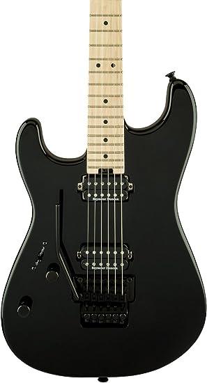 Charvel San Dimas Style 1 HH LH FR Black · Guitarra eléctrica zurdos ...