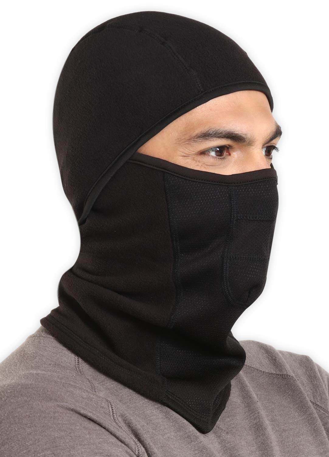 Balaclava - Windproof Ski Mask - Extreme Cold Weather Face Mask for Working, Skiing, Snowboarding & Winter Sports - Protective Head Gear for Those Who Work - Ultimate Protection from the Elements