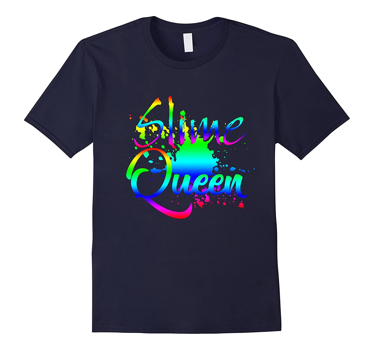 Slime Queen Colorful T-Shirt-FL