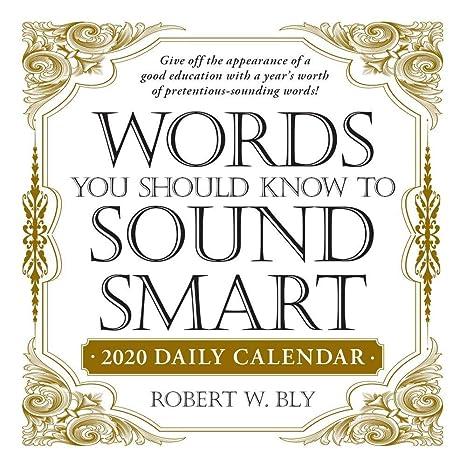 Amazon.com: Simon & Schuster 2020 Words to Make You Sound ...