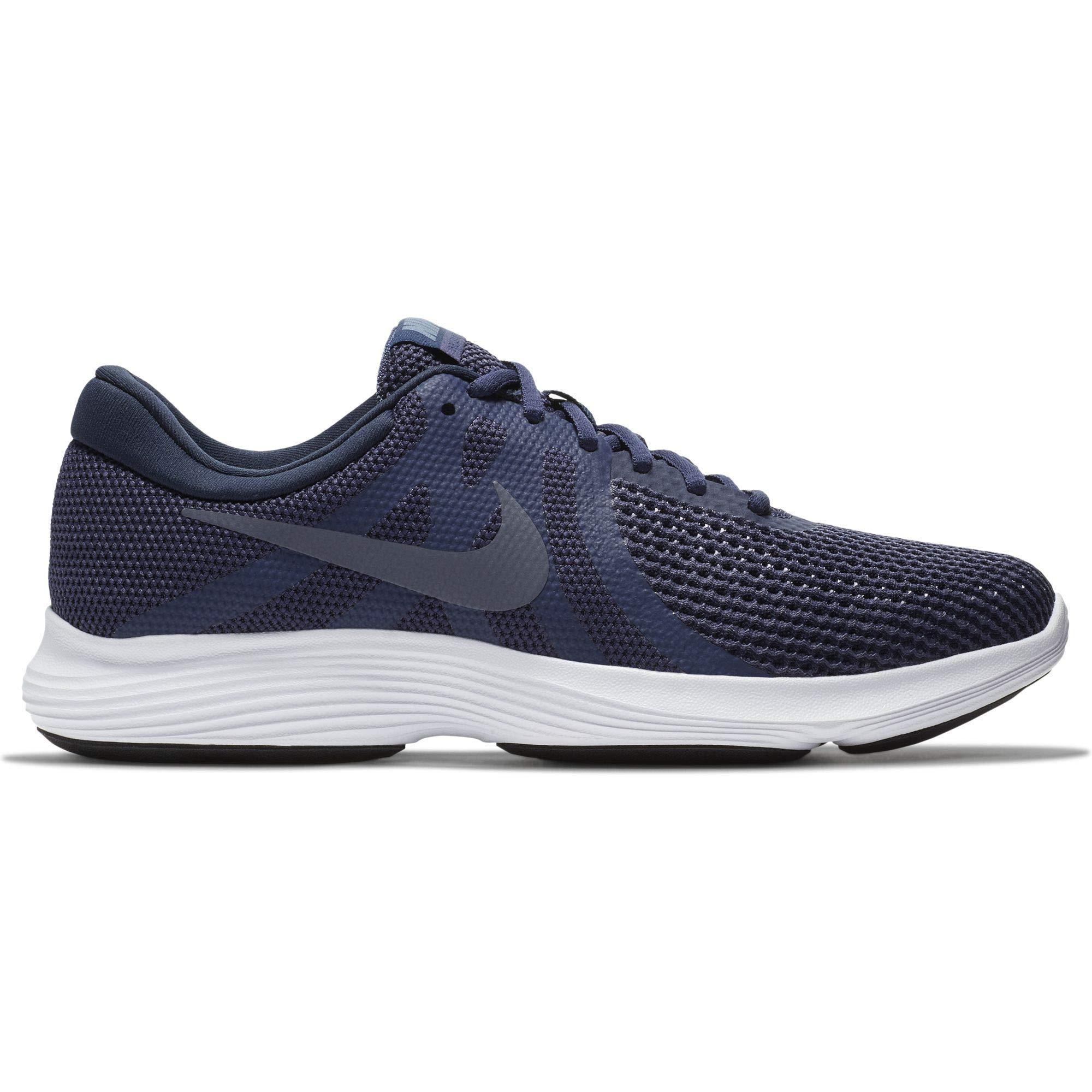 0903010231556 Galleon - Nike Men s Revolution 4 Running Shoe Neutral Indigo Light  Carbon Obsidian Size 11 M US