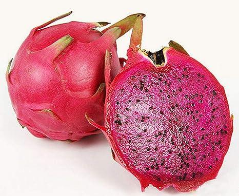pitaya rosa por dentro