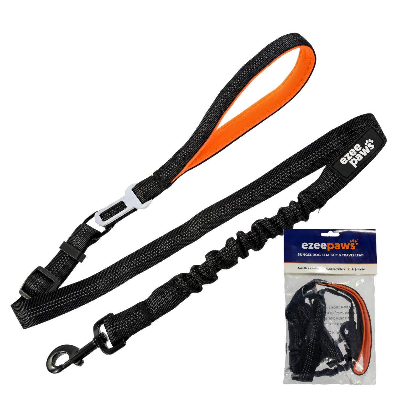 Ezee Paws - Cinturón de Seguridad para Perro y Correa de Viaje con ...