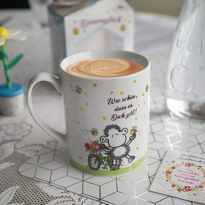 Tasse Was guckst du? Wespe Biene Mug Cup Kaffeetasse