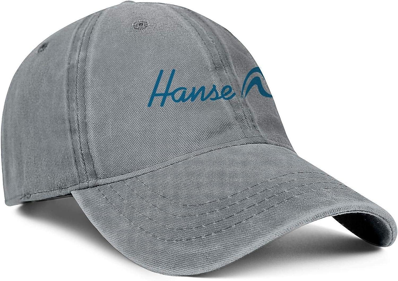 Trucker Hats Hanse-Yachts-Logo Snapback Men Women Adjustable Denim Rock Caps