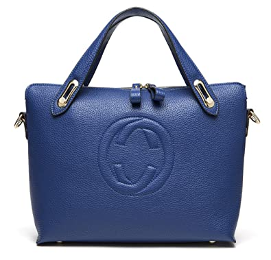 d275736347c Women s  Gucci  Designer Style Leather Bucket Tote Bag - Shopper Handbag   Amazon.co.uk  Shoes   Bags