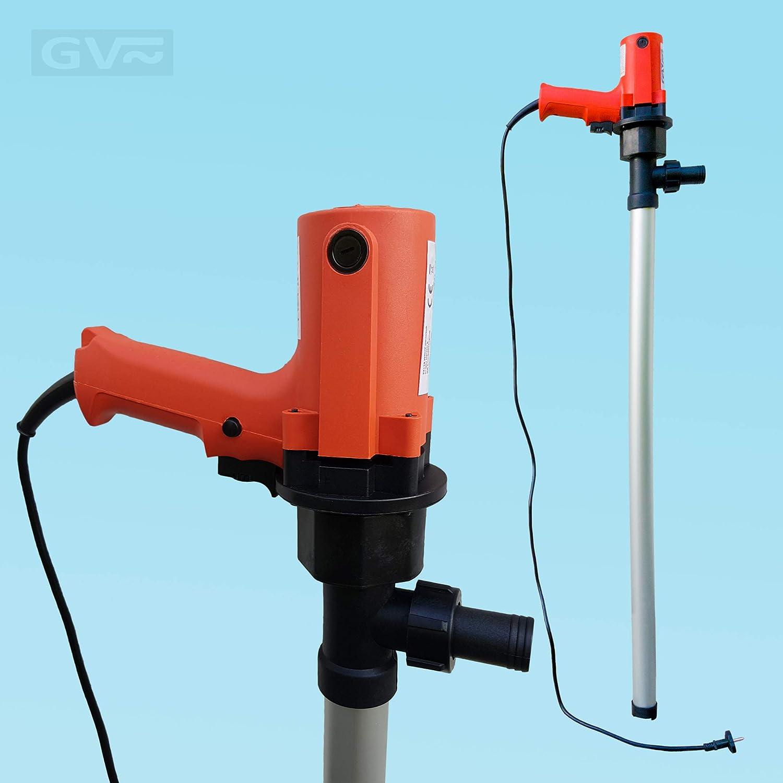 6000 l//h Heiz/öl 100/% selbstansaugend Aluminium Saugstab Adblue und Wasser 750W GV Pumpentechnik Fasspumpe DFP750 f/ür Diesel 100 l//min