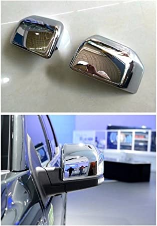 Bestmotoring ABS Chrome Rearview Side Mirror Cover Trim Frame for Ford F150 F-150 2015 2016