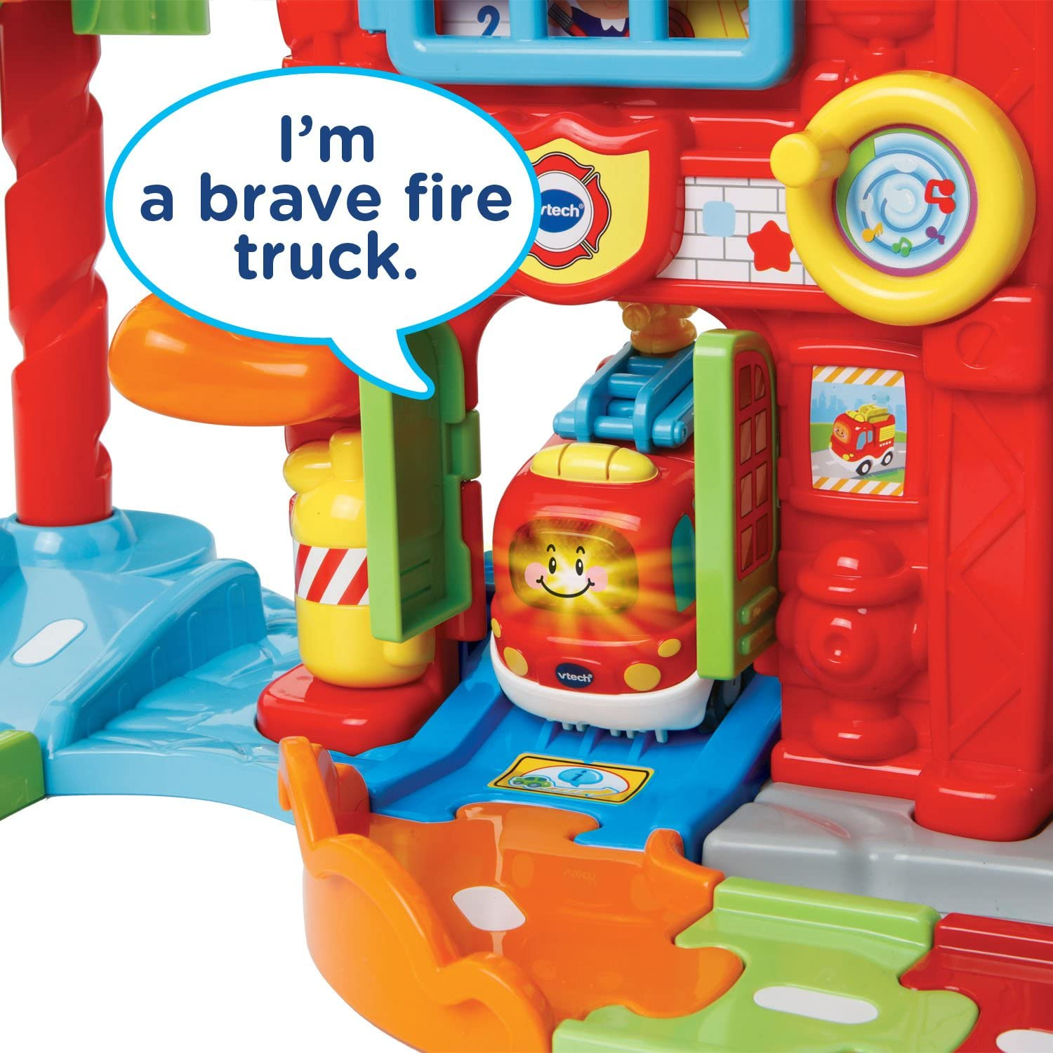 VTech Go Smart Wheels Save the Day Fire Station Go