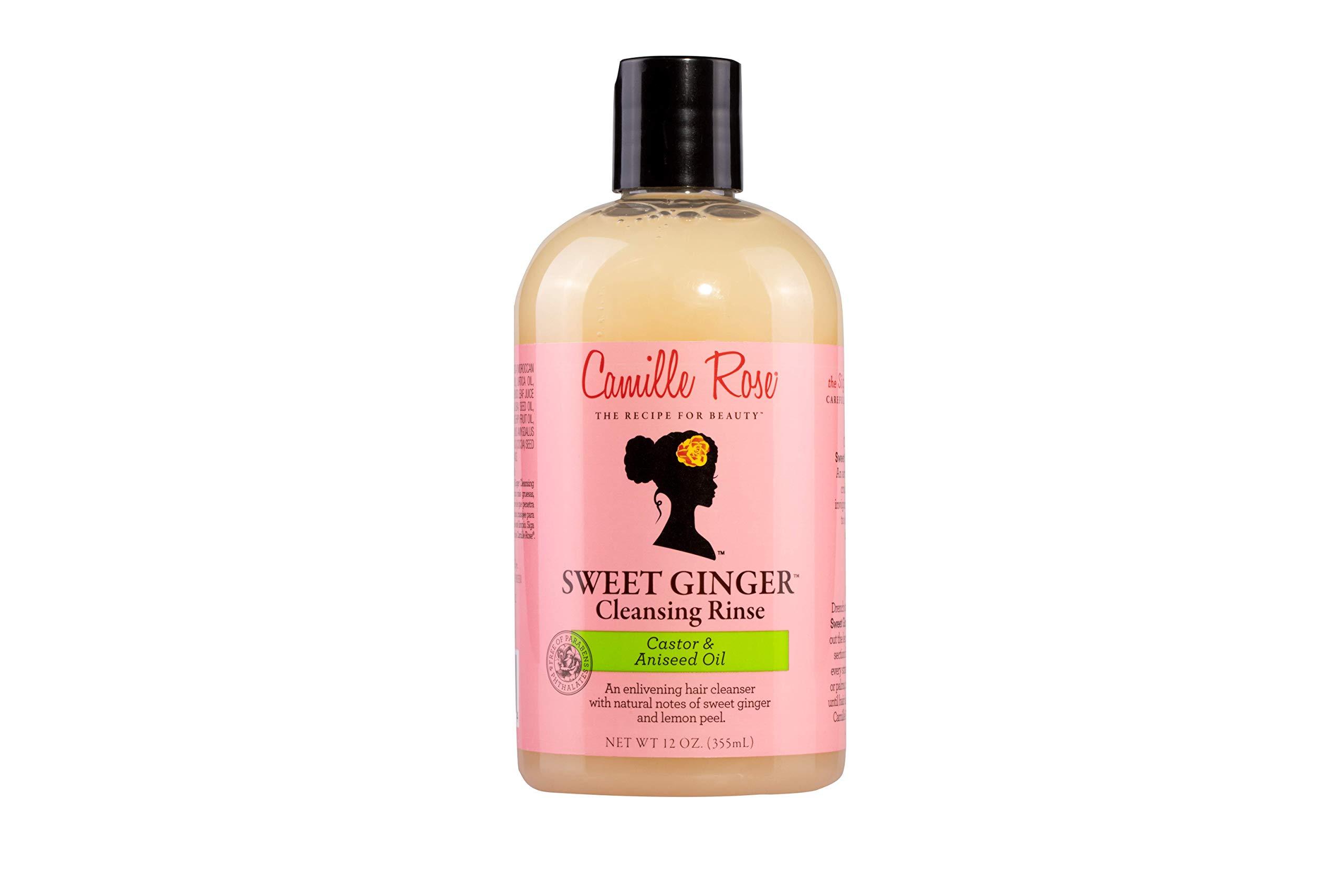 Camille Rose Sweet Ginger Cleansing Rinse, 12 fl oz