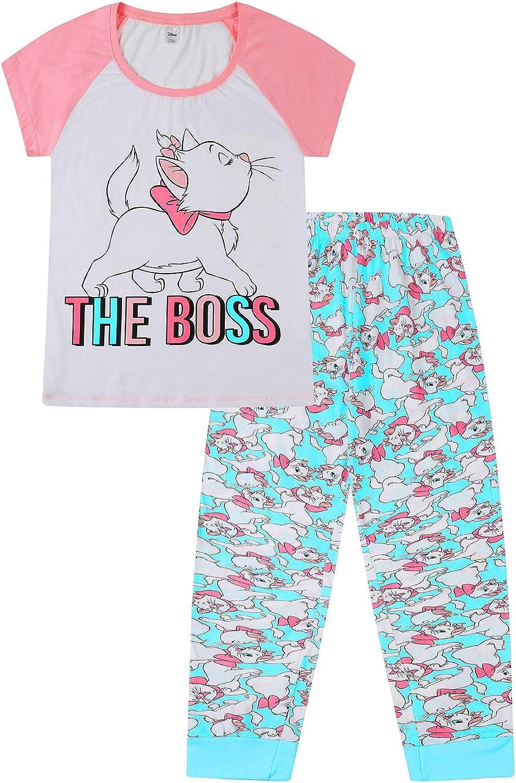 Disney Pijama para mujer The Aristocats Marie The Boss ...