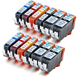 - Compatible Ink Cartridges for Canon PGI-225 & CLI-226 PGI-225BK CLI-226BK CLI-226C CLI-226M CLI-226Y Inkjet Cartridge Compatible With Canon PIXMA IP4820 PIXMA IX6520 PIXMA MG5120 PIXMA MG5220 PIXMA MG5320 PIXMA MG6120 PIXMA MG6220 PIXMA MG8120 PIXMA MG8 by Ink & Toner 4 You