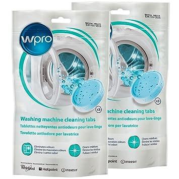 Hace recién lavadora limpiador pastillas (6 unidades, olor Forma ...