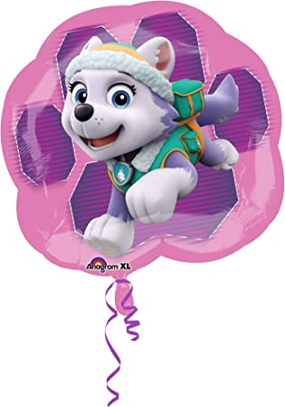 Amscan International 3426901 25-Inch Paw Patrol Skye and Everest Super Shape Foil Balloon by Amscan International , color/modelo surtido: Amazon.es: Juguetes y juegos