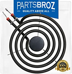 660532 6-Inch Small Surface Element for Whirlpool Stoves by PartsBroz - Replaces WP660532, AP6010189, 14201046, 14210026, 1938218, 1938250, 1938252, 1938284, 1938305, 1938343, 1938355, and More