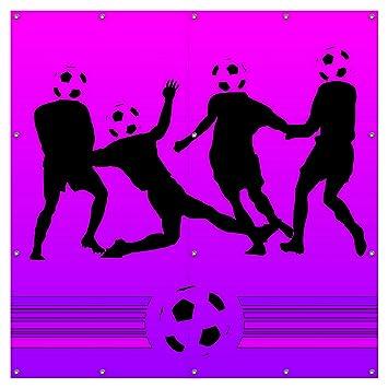 Wallario Xxl Garten Poster Outdoor Poster Fussball