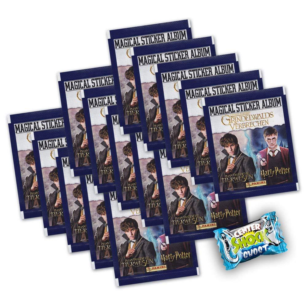 Grindelwalds Verbrechen 15 Booster Center Shock deutsche Ausgabe Panini Sticker Phantastische Tierwesen 2