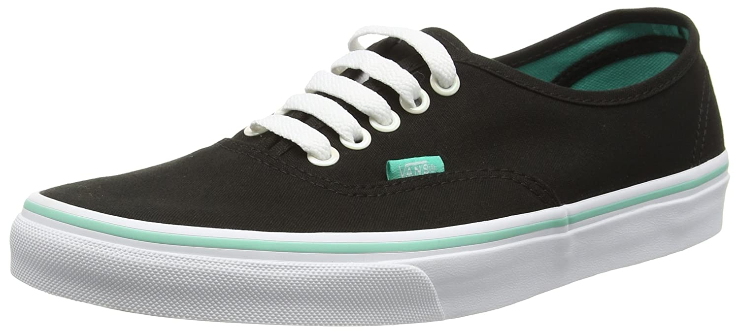 Vans Authentic B017JOQ3AK 10 M US Women / 8.5 M US Men|(Iridescent Eyelets) Black