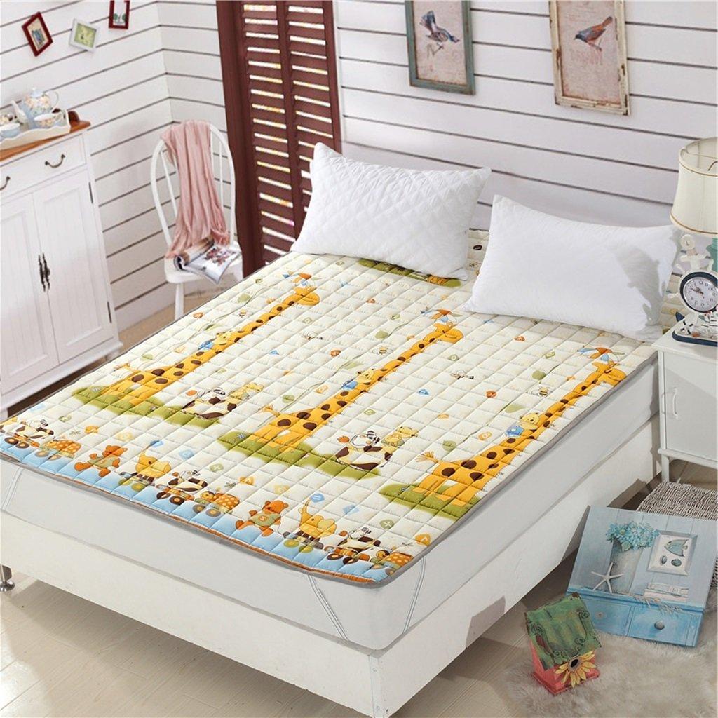 Fenfen Colchón de colchonetas para niños de Dibujos Animados [Dormitorio para Estudiantes] Tapete de algodón tapete Tatami con colchón (Tamaño : 200 ...