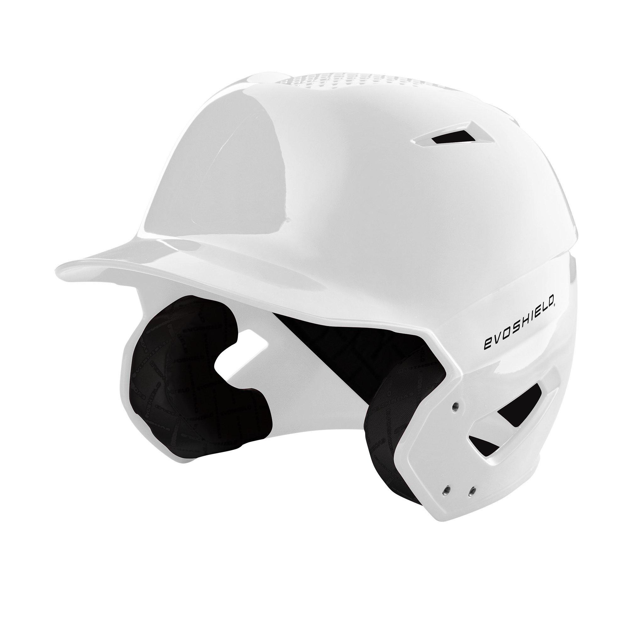 EvoShield XVT Batting Helmet, White - S-M by EvoShield
