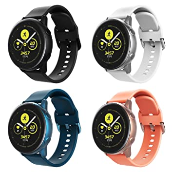 TiMOVO Pulsera Compatible con Galaxy Watch Active/Galaxy Watch ...