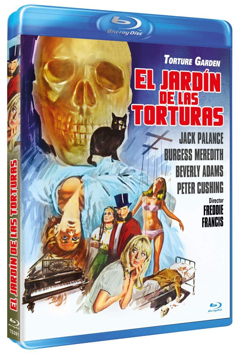 El Jardín de las Torturas BD 1967 Torture Garden Blu-ray: Amazon ...